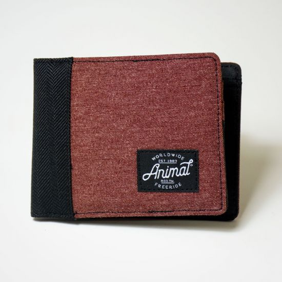 Animal Provoked Wallet Andorra Red