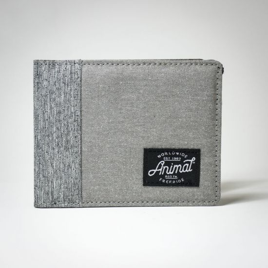 Animal Provoked Wallet Grey
