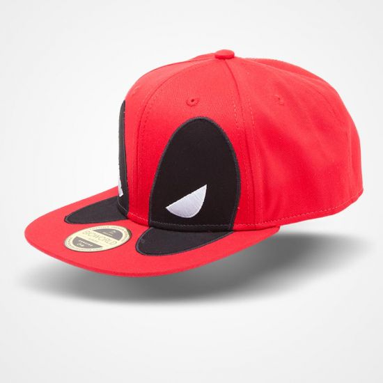 1dda0f10934 Marvel Deadpool – Big Face Snapback