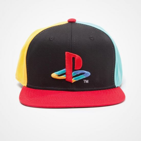 aa3dcc4c249 PlayStation Snapback Cap with Original Logo front facing