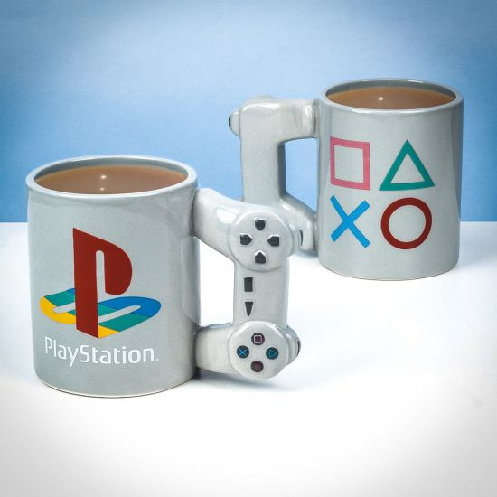 PlayStation Controller Mug showing front and back