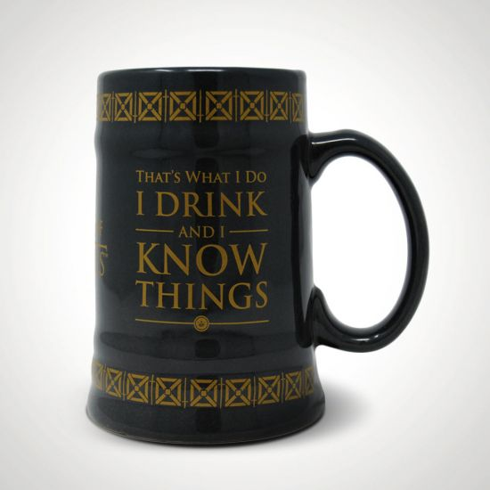 Game of Thrones I Drink and I Know Things Stein