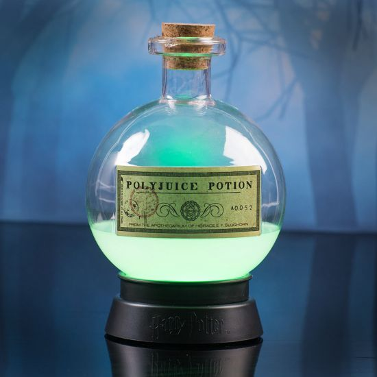 Harry Potter Polyjuice Potion Colour-Changing Lamp glowing green