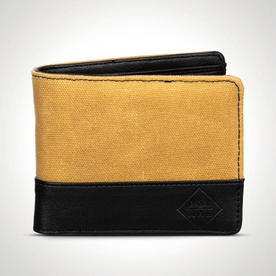 Animal Reckless Wallet – Vintage Yellow front