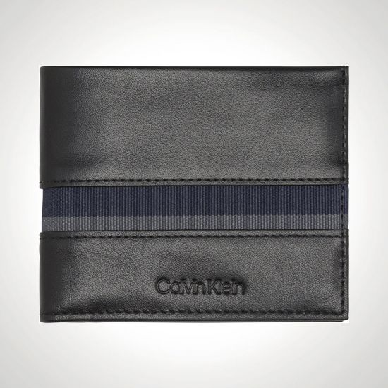 Calvin Klein Switch Slimfold 6CC Credit Card Holder front