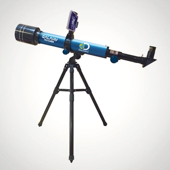 Discovery  Galaxy Tracker 60mm Smart Telescope - Grey Background