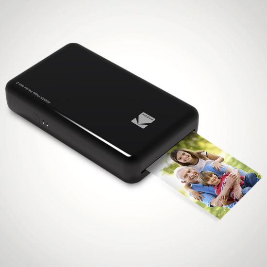 Kodak Mini 2 Mobile Photo Printer - Black