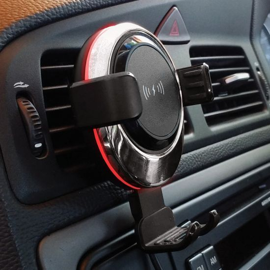 Wireless Car Phone Charger and Holder - Lifestyle