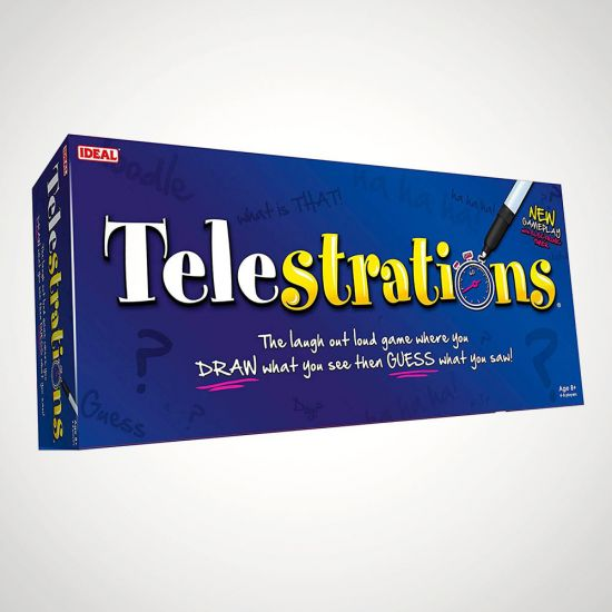Telestrations The Drawing And Guessing Game Menkind