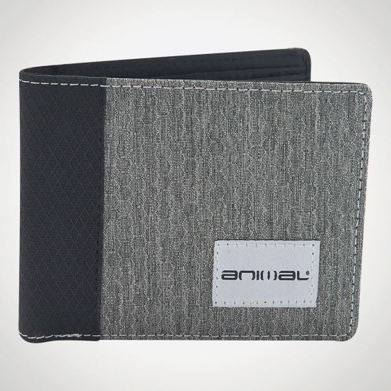 Provoked Grey Wallet - Grey Background