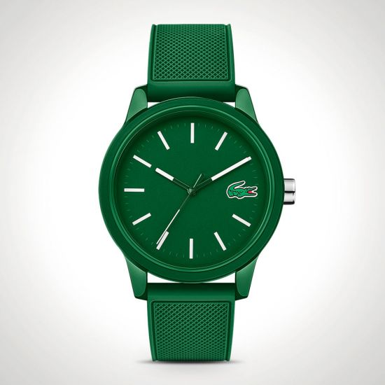 78167ba20c4 Lacoste 12.12 2010985 Watch – Green with Silicone Strap