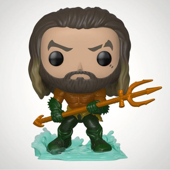 Aquaman Pop! Vinyl - Grey Background