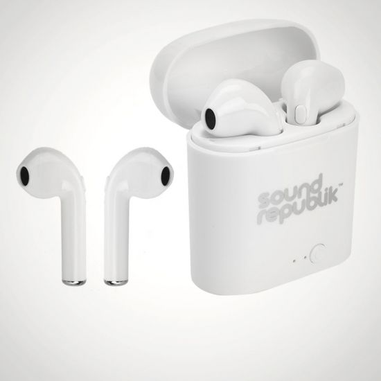 Bluetooth Earbuds Assorted - Grey Background