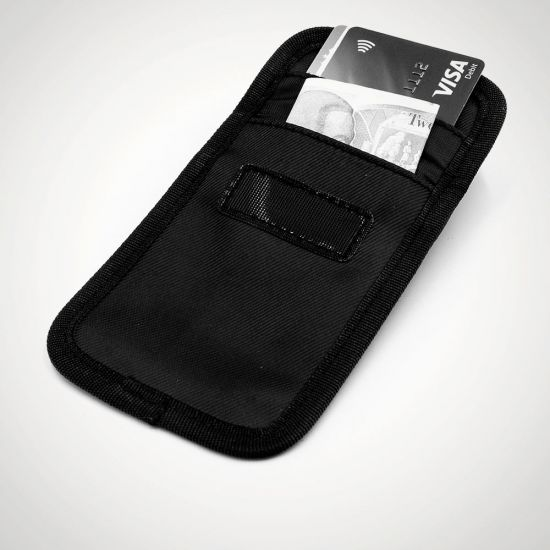 Wraps Anti-Theft RFID Wallet – Small - Grey Background