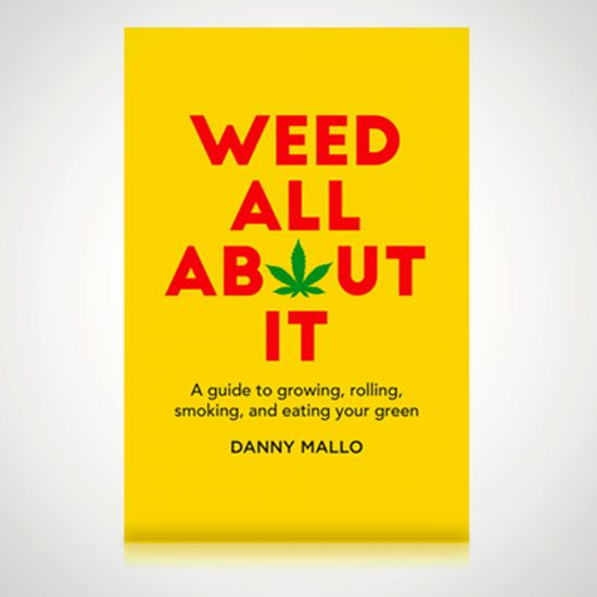Weed All About It - Grey Background