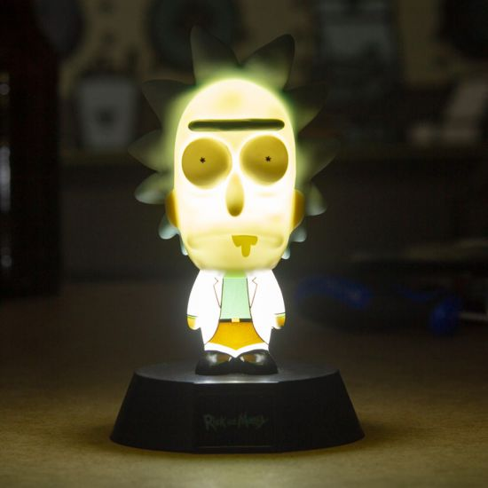 Rick and Morty Rick Icon Light - Lifestyle