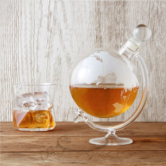 Mixology Globe Decanter - Lifestyle
