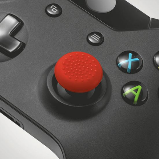 GXT 264 Thumb Grips for Xbox One - 8 pack - Grey Background