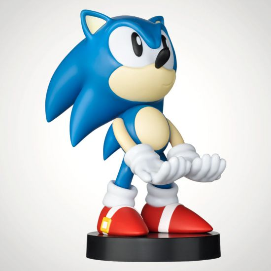 Classic Sonic Cable Guy - Grey Background