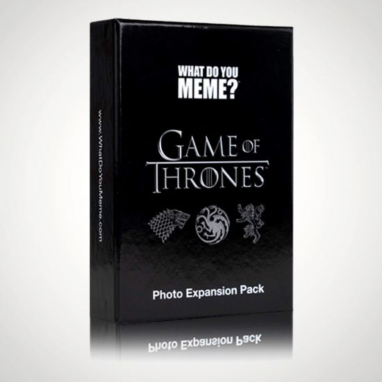 What Do You Meme? Game of Thrones Photo Expansion Pack - Grey Background