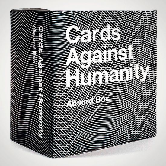 Cards Against Humanity Absurd Box Expansion Pack - Grey Background