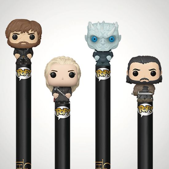 Game of Thrones S10 Pop! Pen Toppers-Grey Background