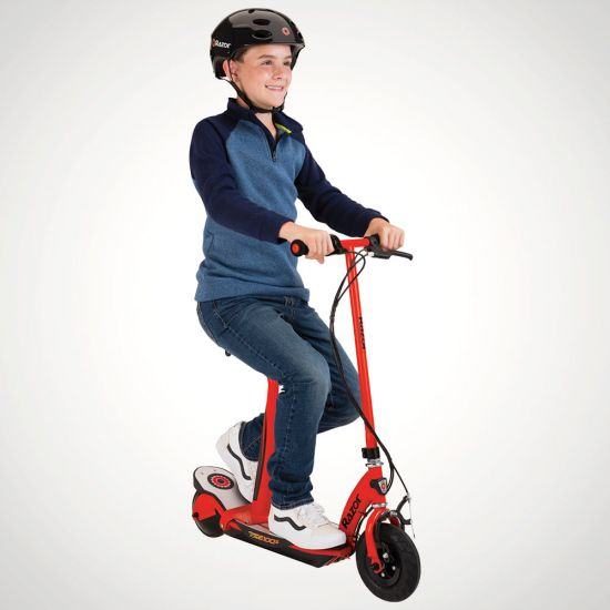 Razor Power Core E100S Electric Scooter - Grey Background