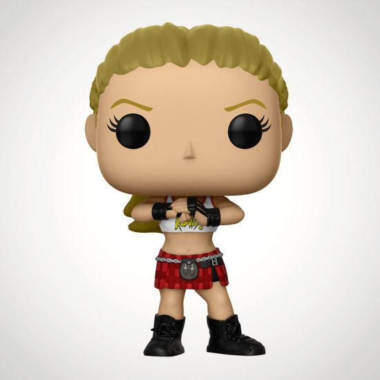 WWE Ronda Rousey Pop! Vinyl Figure - Grey Background