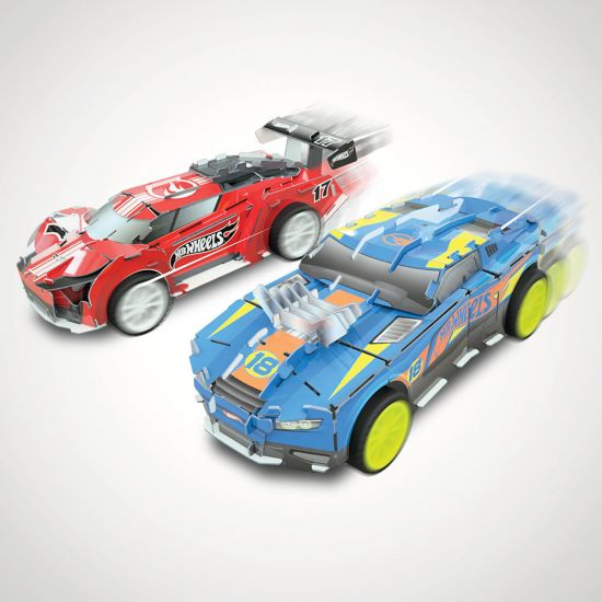 EXCLUSIVE Hot Wheels Maker Kitz - Build and Race Kit - Grey Background
