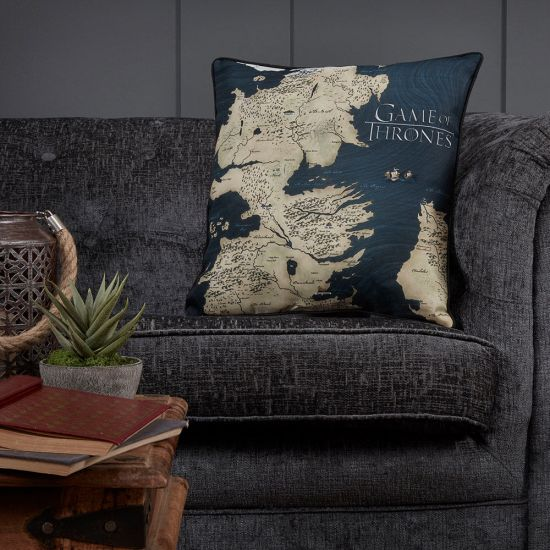 Game of Thrones Westeros Cushion- Lifestyle