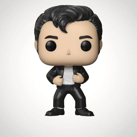POP! Vinyl Grease: Danny Zuko - Grey Background