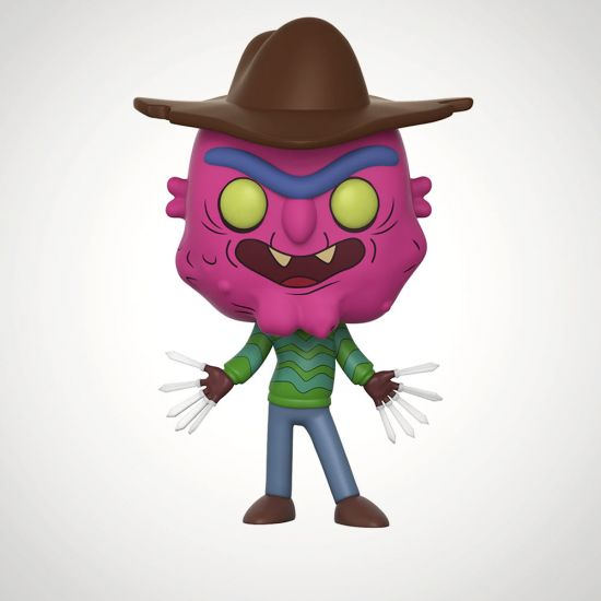 Rick and Morty Scary Terry POP! Vinyl - Grey Background