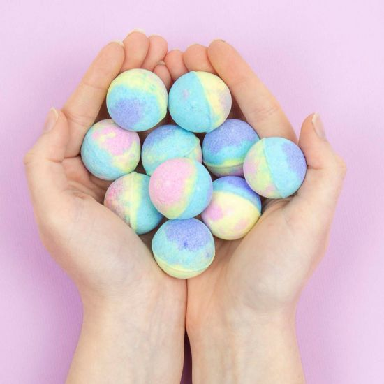 Unicorn Poo Bath Bombs - Lifestyle