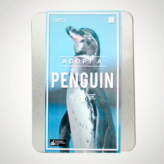 Adopt a Penguin-Grey Background