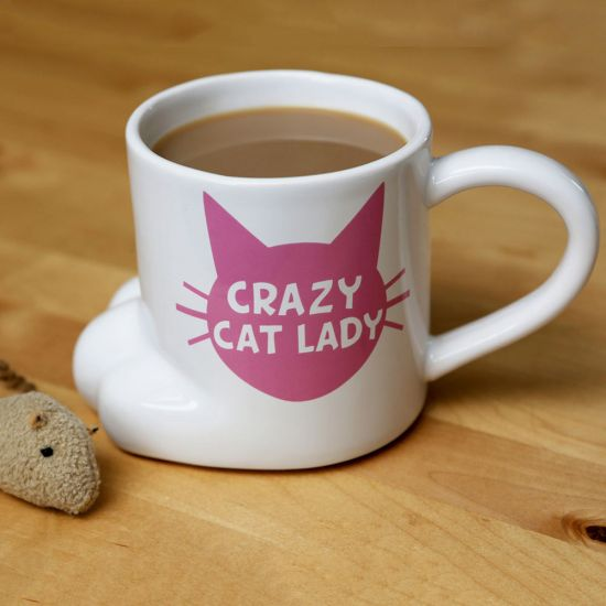 Mug Crazy Cat Lady - Lifestyle