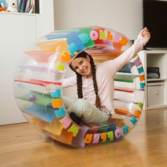 Inflatable Roller Wheel-Lifestyle