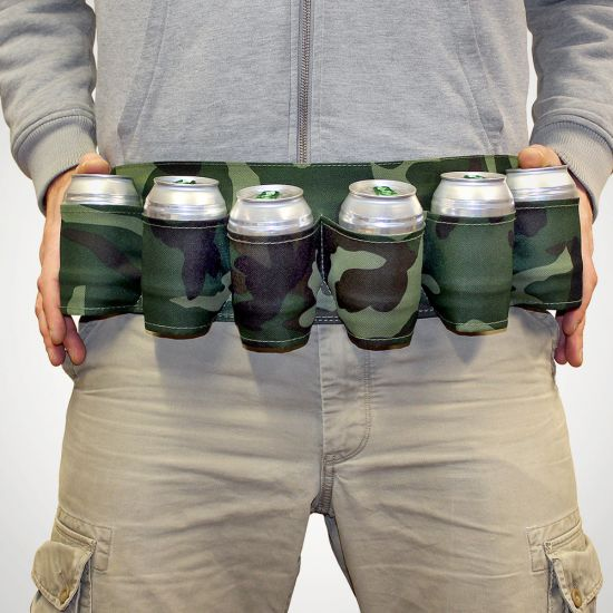 The Ultimate Six Pack Beer Belt - Lifestyle