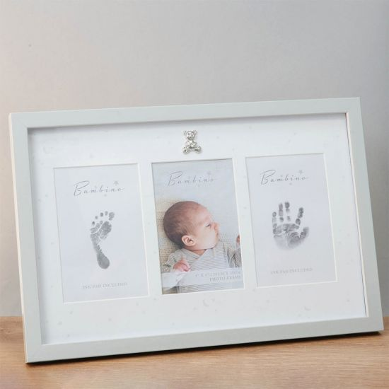 Baby Hand and Foot Print Photo Frame Kit - Lifestyle