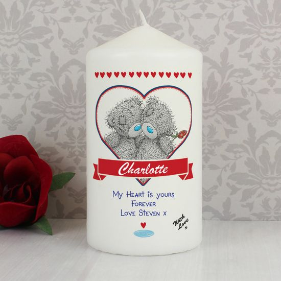 Personalised Me to You Couple Candle - Lifestyle