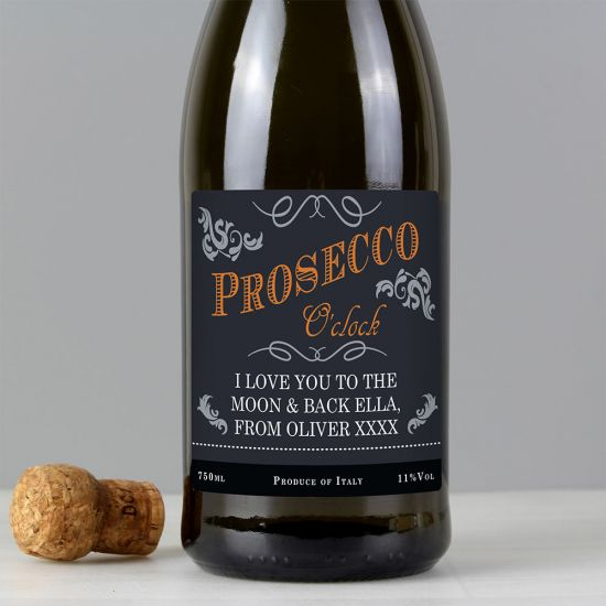 Personalised Bottle of Prosecco - Lifestyle