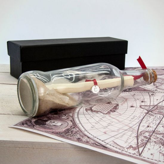 Luxury Personalised Message In A Bottle-Lifestyle