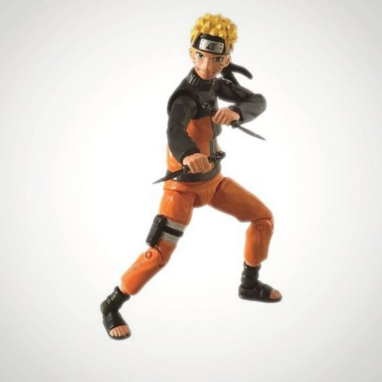 0b6520e637fa Naruto Shippuden Action Figure Naruto 10 cm Toynami - Grey Background. Tap  to expand