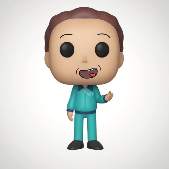 EXCLUSIVE Rick and Morty Tracksuit Jerry Pop! Vinyl - Grey Background