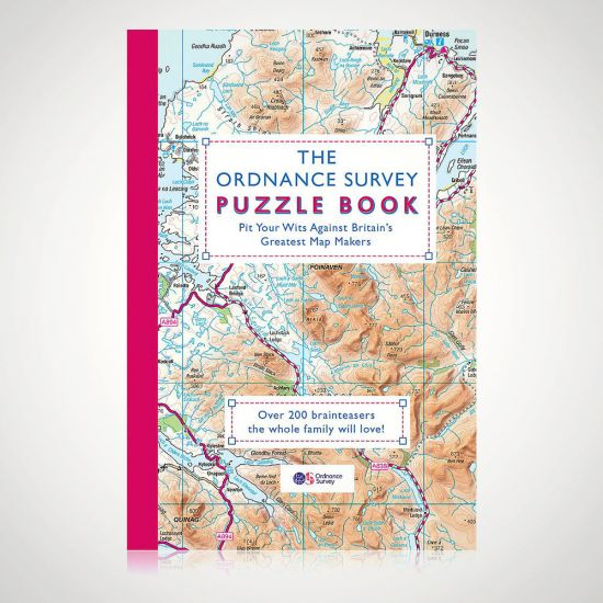The Ordnance Survey Puzzle Book - Grey Background
