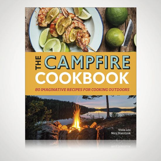 The Campfire Cookbook - Grey background