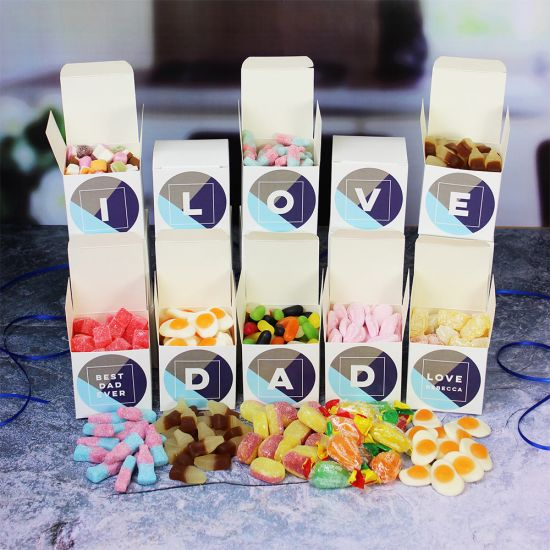 I Love Dad Sweet Words Boxes - Lifestyle
