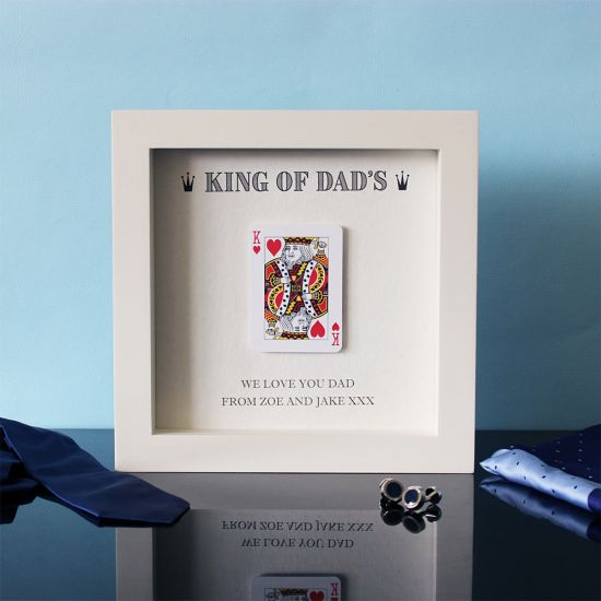 King of Dad's Hand Finished Frame - Lifestyle