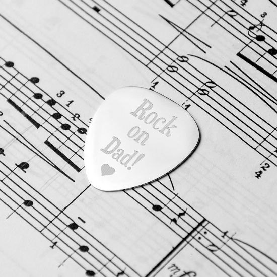 Personalised Dad's Plectrum - Lifestyle