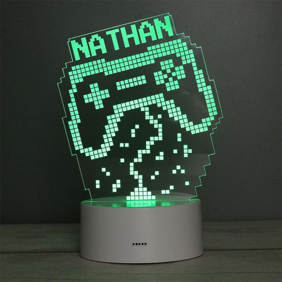 Personalised Game Pad Colour-Changing Night Light  - Lifestyle