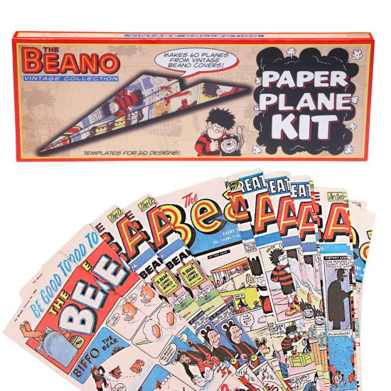 Beano Paper Plane Kit Fun Paper Gifts For Fans Of The Beano Menkind